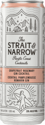 STRAIT AND NARROW GRAPEFRUIT ROSEMARY 6x355ml