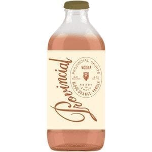 PROVINCIAL SPIRITS BLOOD ORANGE AND VANILLA 341ml